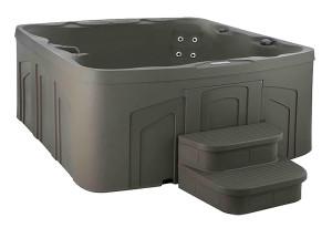 Monterey Plug-n-play hot tub by Freeflow Spas