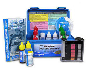 Water testing by New Products Inc.